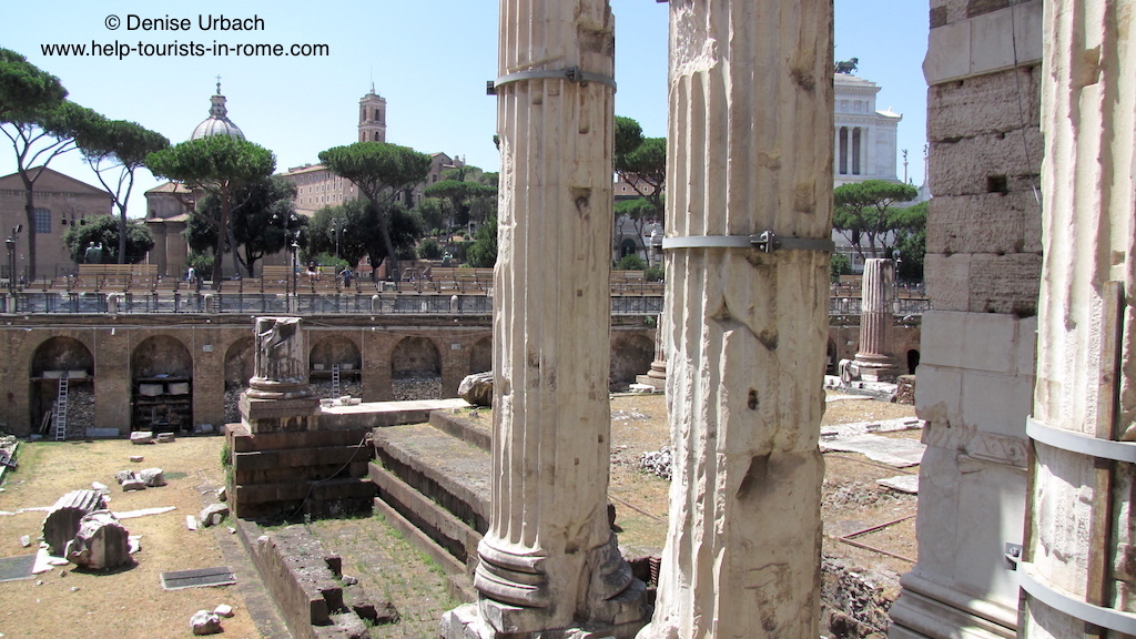 fori imperiali kaiserforen in rom helptourists in rome. Black Bedroom Furniture Sets. Home Design Ideas