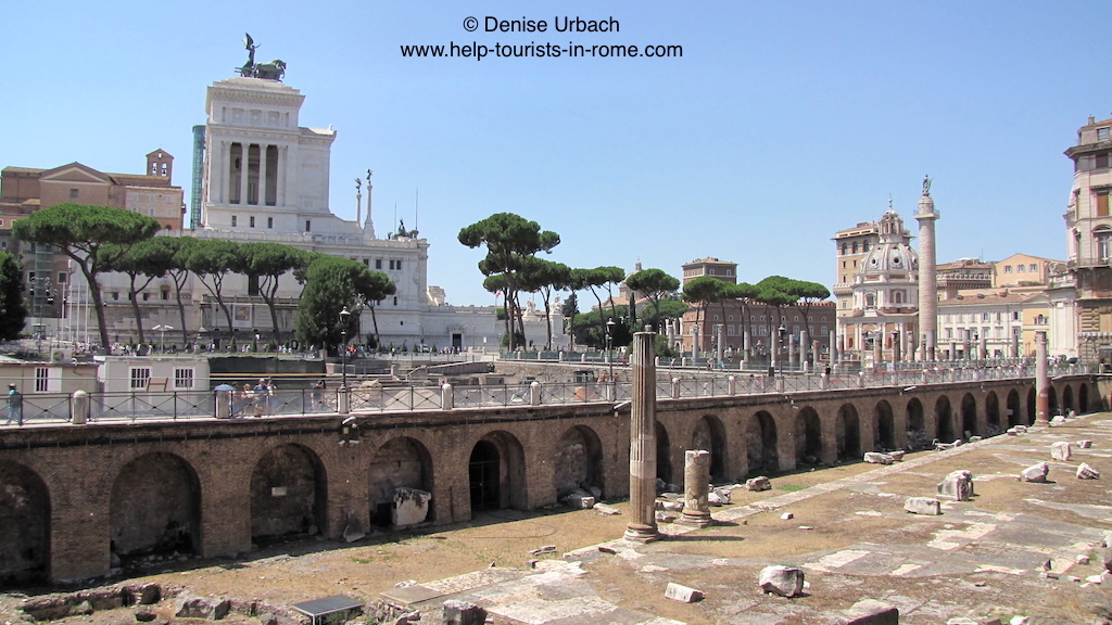 fori imperiali rom kaiserforen helptourists in rome. Black Bedroom Furniture Sets. Home Design Ideas