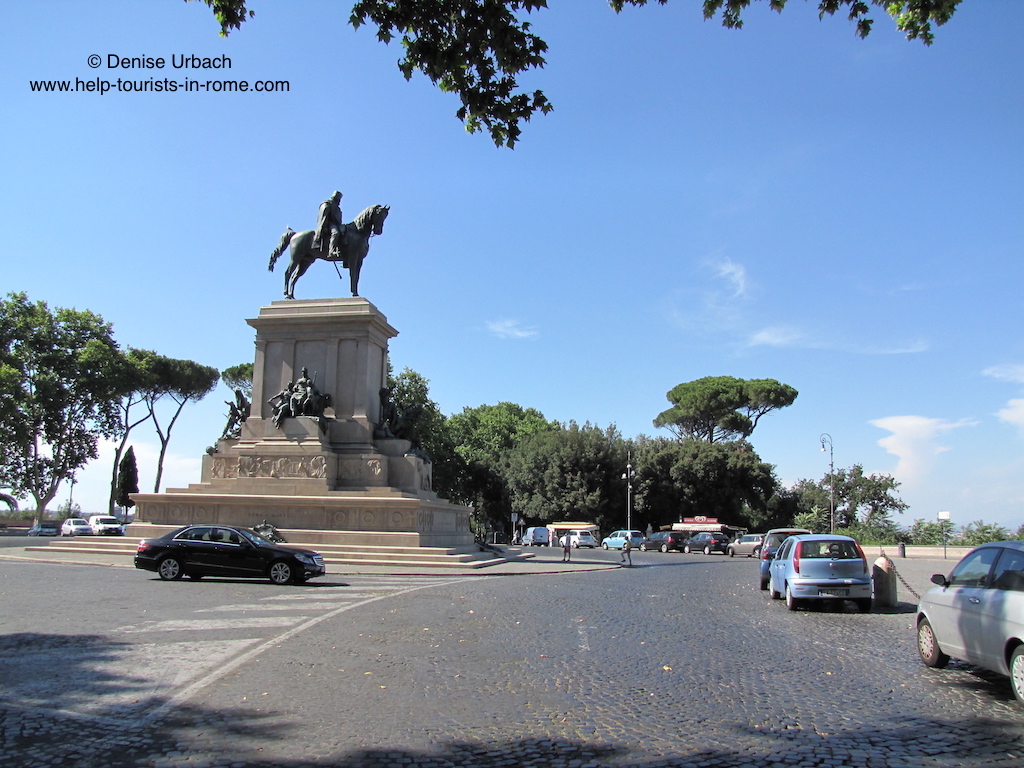 gianicolo toller blick ueber rom helptourists in rome. Black Bedroom Furniture Sets. Home Design Ideas