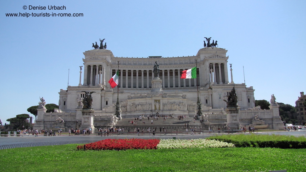 il vittoriano in rom helptourists in rome. Black Bedroom Furniture Sets. Home Design Ideas