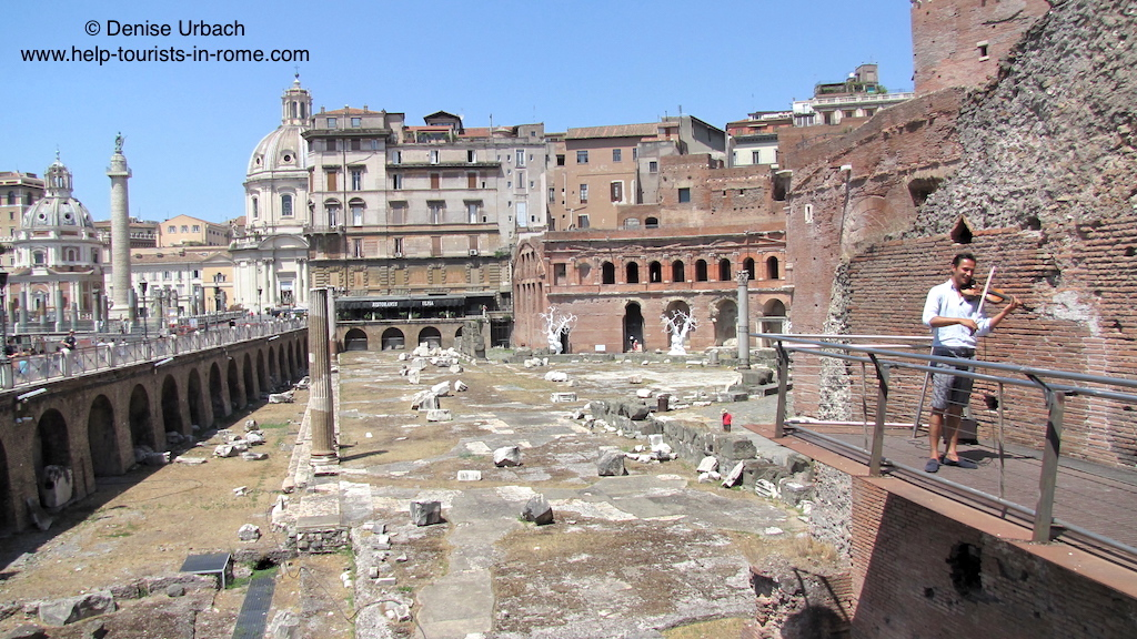 imperial fora rom kaiserforen rom mercato di traiano helptourists in rome. Black Bedroom Furniture Sets. Home Design Ideas