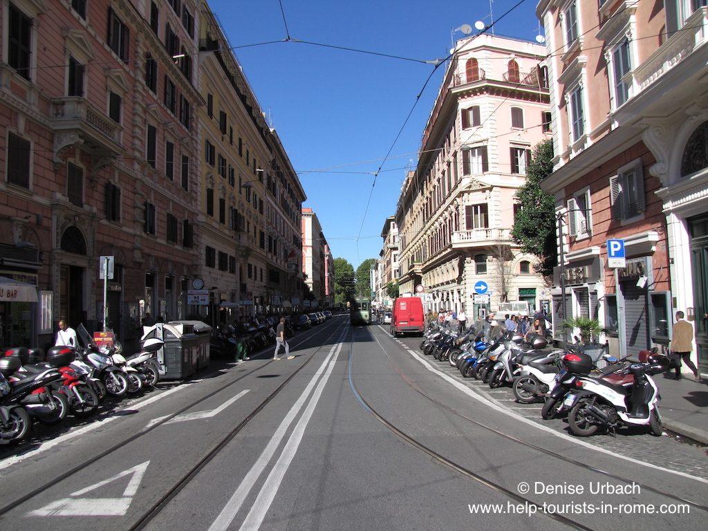 via-ottaviano-shopping-street-rome