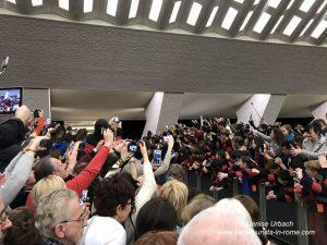 Ankunft Papst Papstmesse