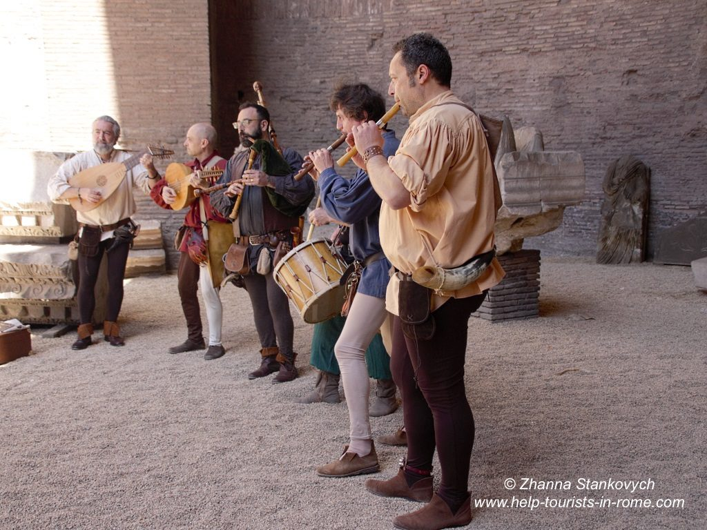 Diokletiansthermen Konzert Rom