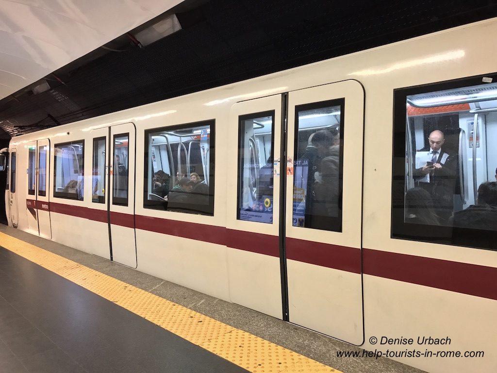 Metro in Rom