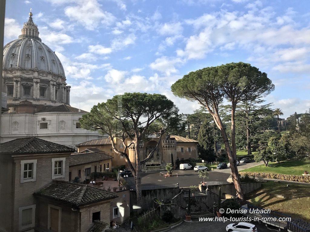 Vatikanische Gärten Rom