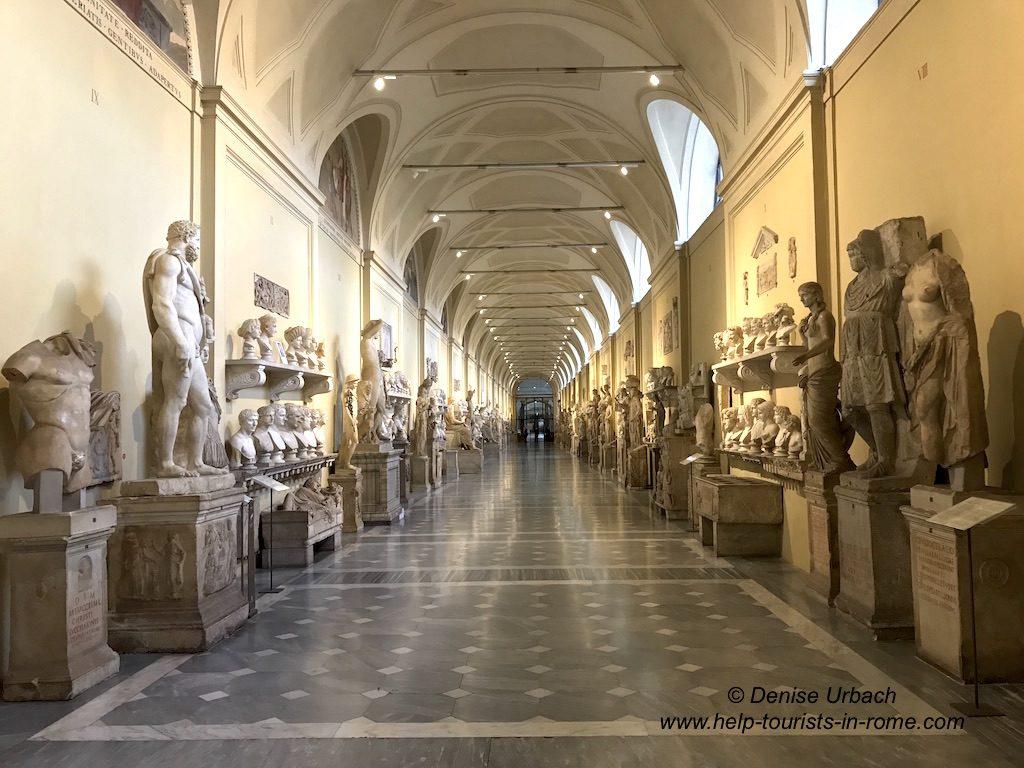 Vatican Museums Interiors