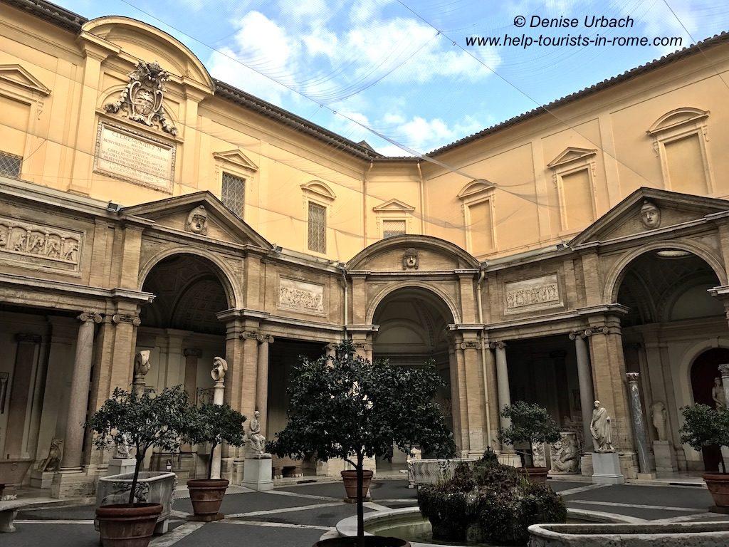 Vatican Museums Patio