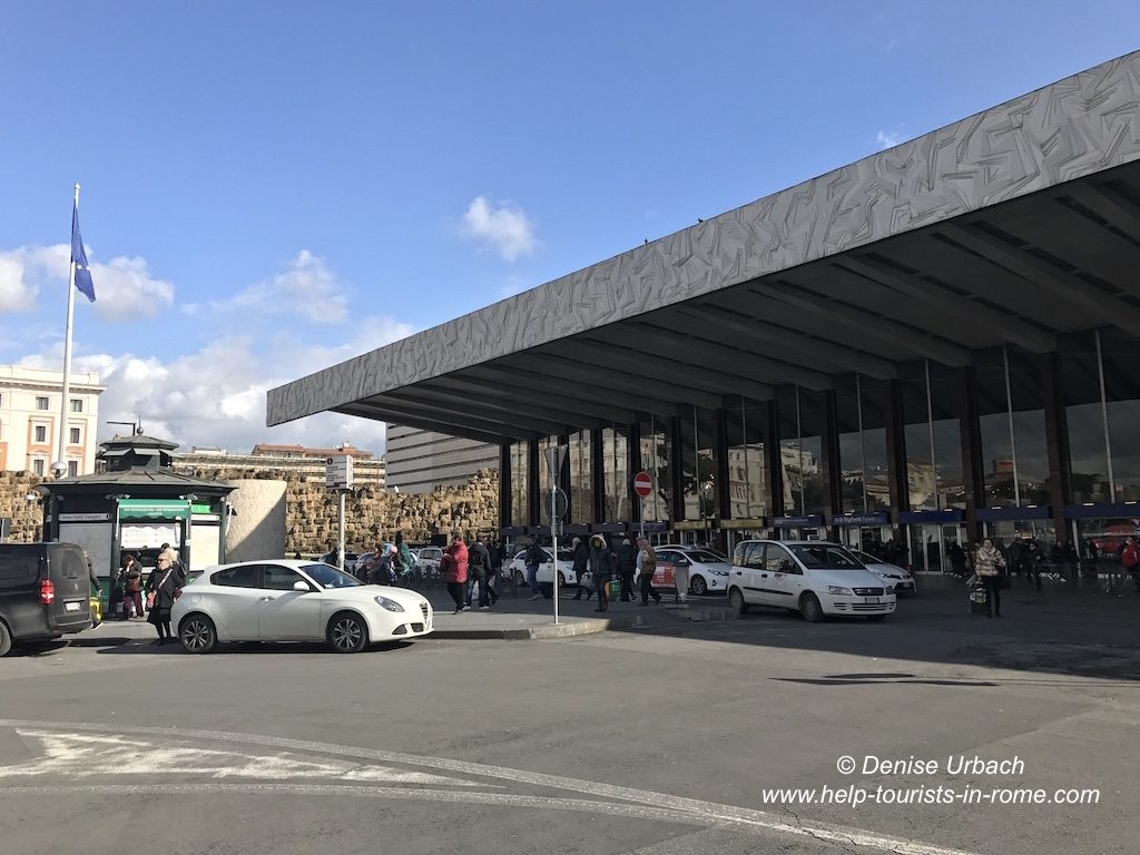 Taxistand Termini Rom