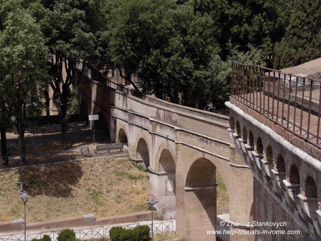Castel Sant'Angelo Rome Passetto
