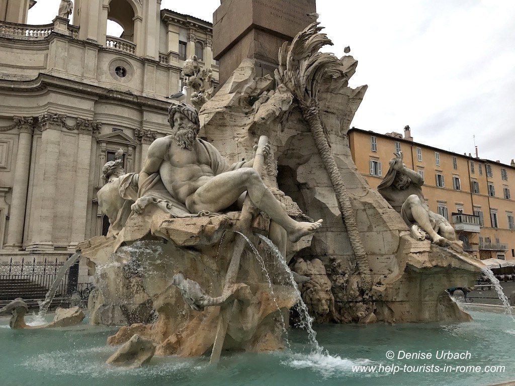 four river fountain