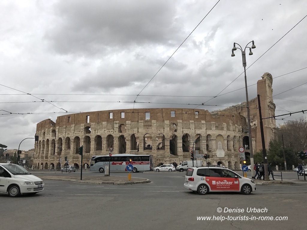 Taxi Rome Colosseo