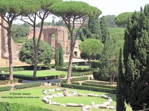 Caracalla-baths-in-Rome