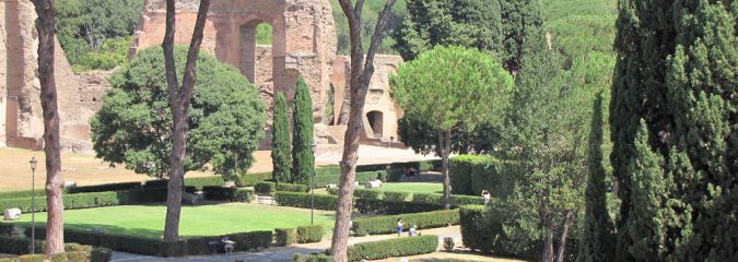 Die Caracalla Thermen in Rom