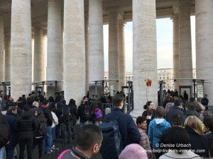security checks papal audience