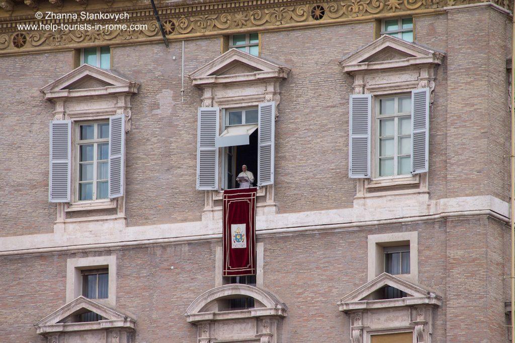 Angelus Petersplatz Rom