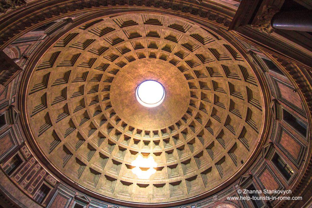Pantheon Rom Kuppel