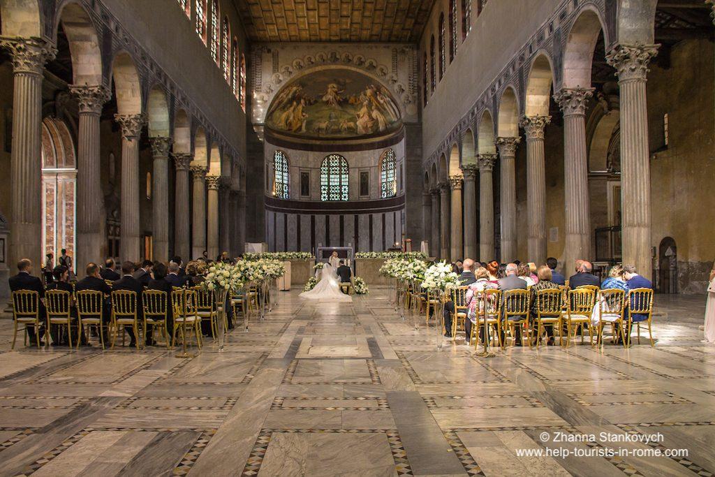 Santa Sabina Aventin Rom Hochzeit