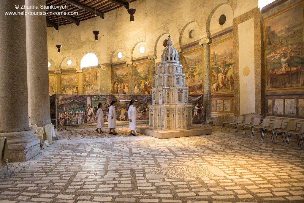 Santo Stefano Rotondo Rom Tabernakel