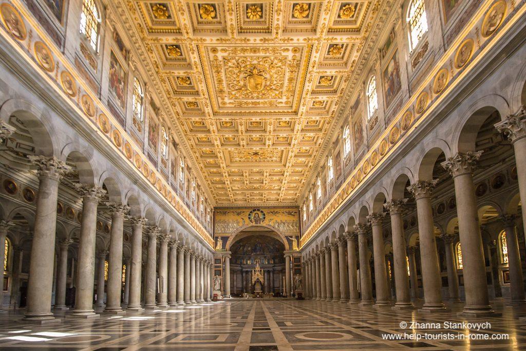 St. Paul vor den Mauern Rom innen