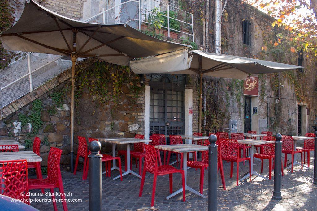 Testaccio Restaurant in Rom