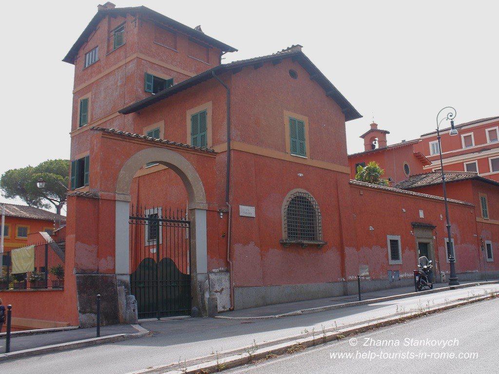 catakombs-Priscilla-in-Rome