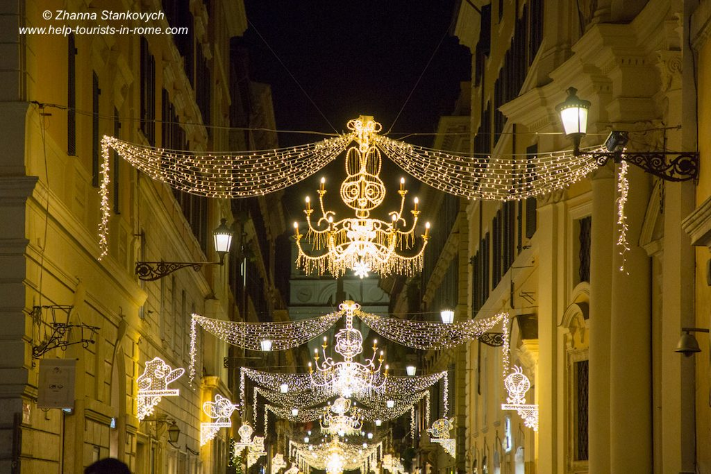 Weihnachtsdeko Rom