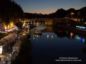Tiber River festival Rome
