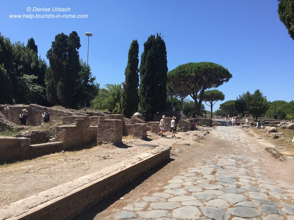 Ostia Antica Rom antike Ausgrabungsstätte