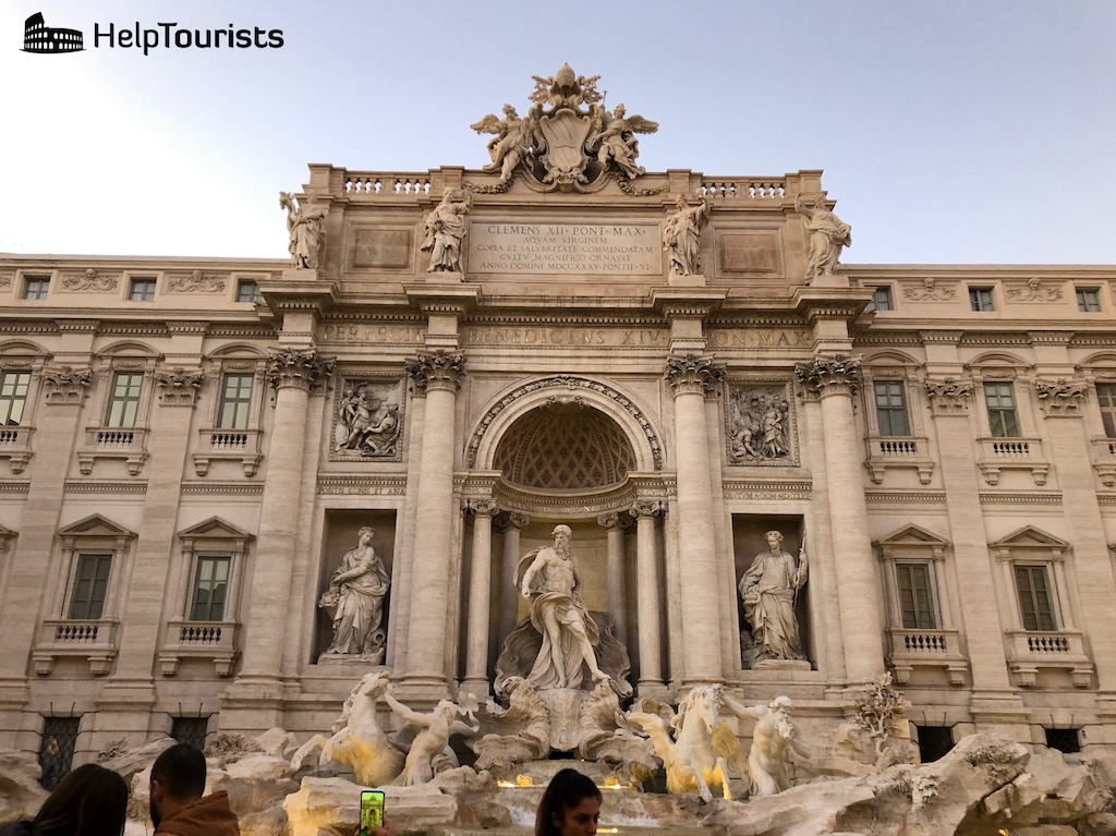 rom trevi brunnen helptourists in rome. Black Bedroom Furniture Sets. Home Design Ideas