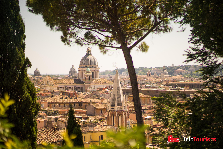ROME_view_Viale-del-Belvedere_l