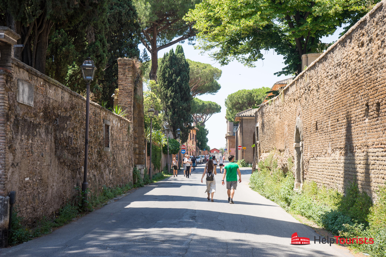 ROME_Aventin_Street_l