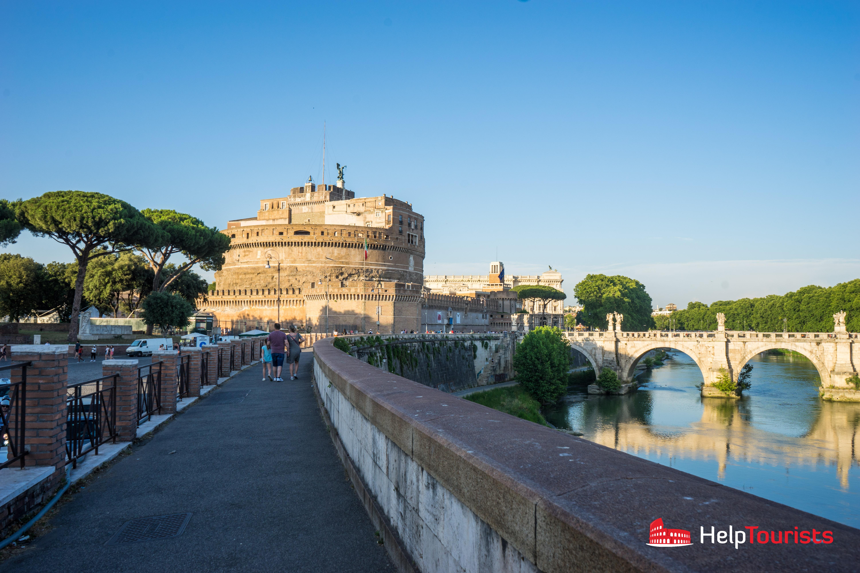 ROME_Saint Angelo's Castle_Totale_l