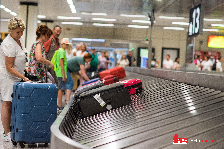ROM_Flughafen_Gepaeckband