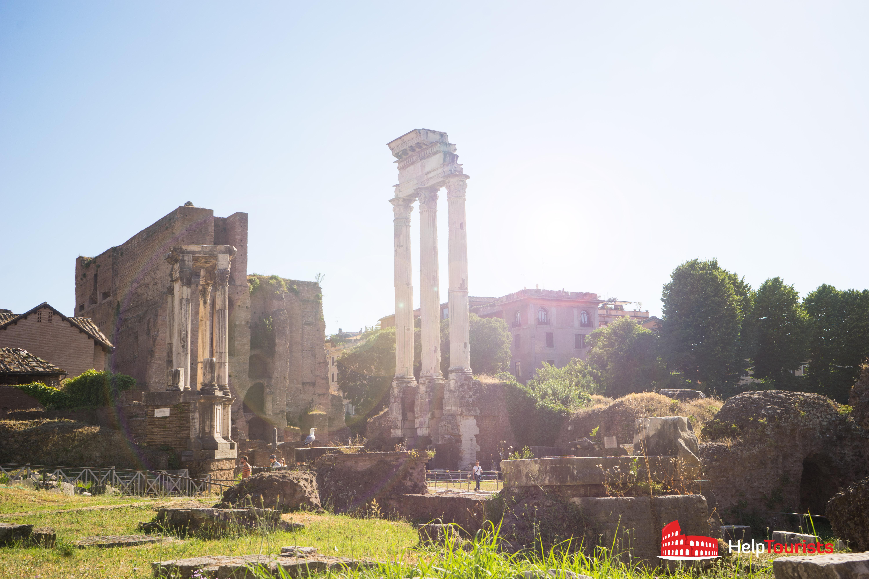 ROME_Forum-Romanum_Foro-di-Cesare_02
