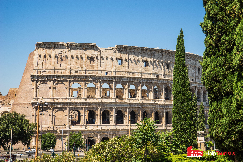 ROME_Colosseum-trees