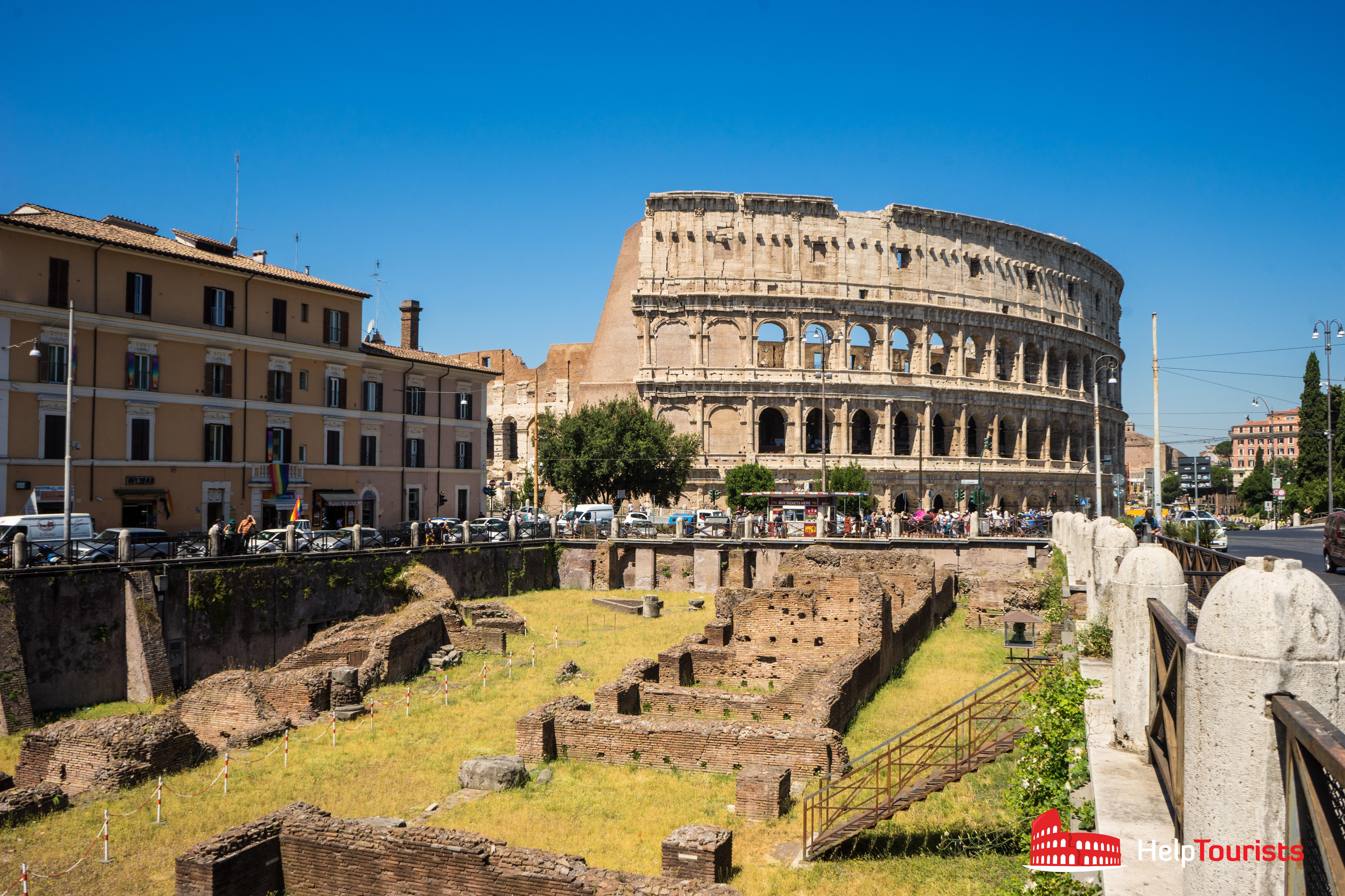 ROME_colosseum_Ludus-Magnus