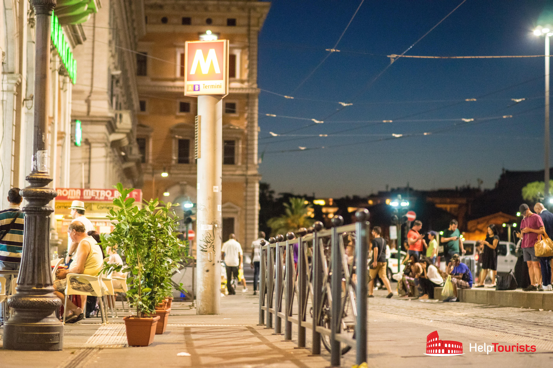 ROME_Metro-night