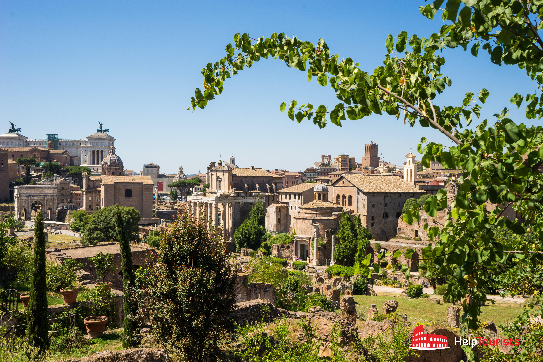 ROME_Palatine_view