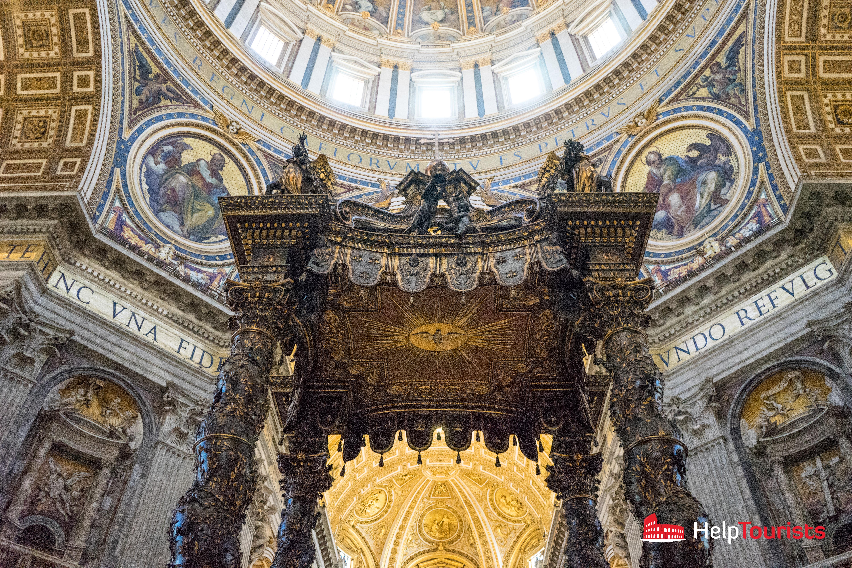 ROME_St_Peter's_Basilica_Altar_close_l