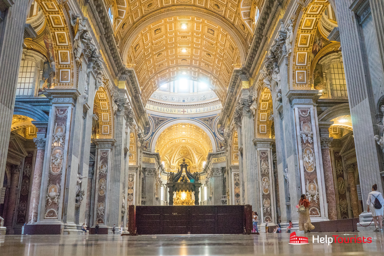 ROME_St_Peter's_Basilica_Inside_l