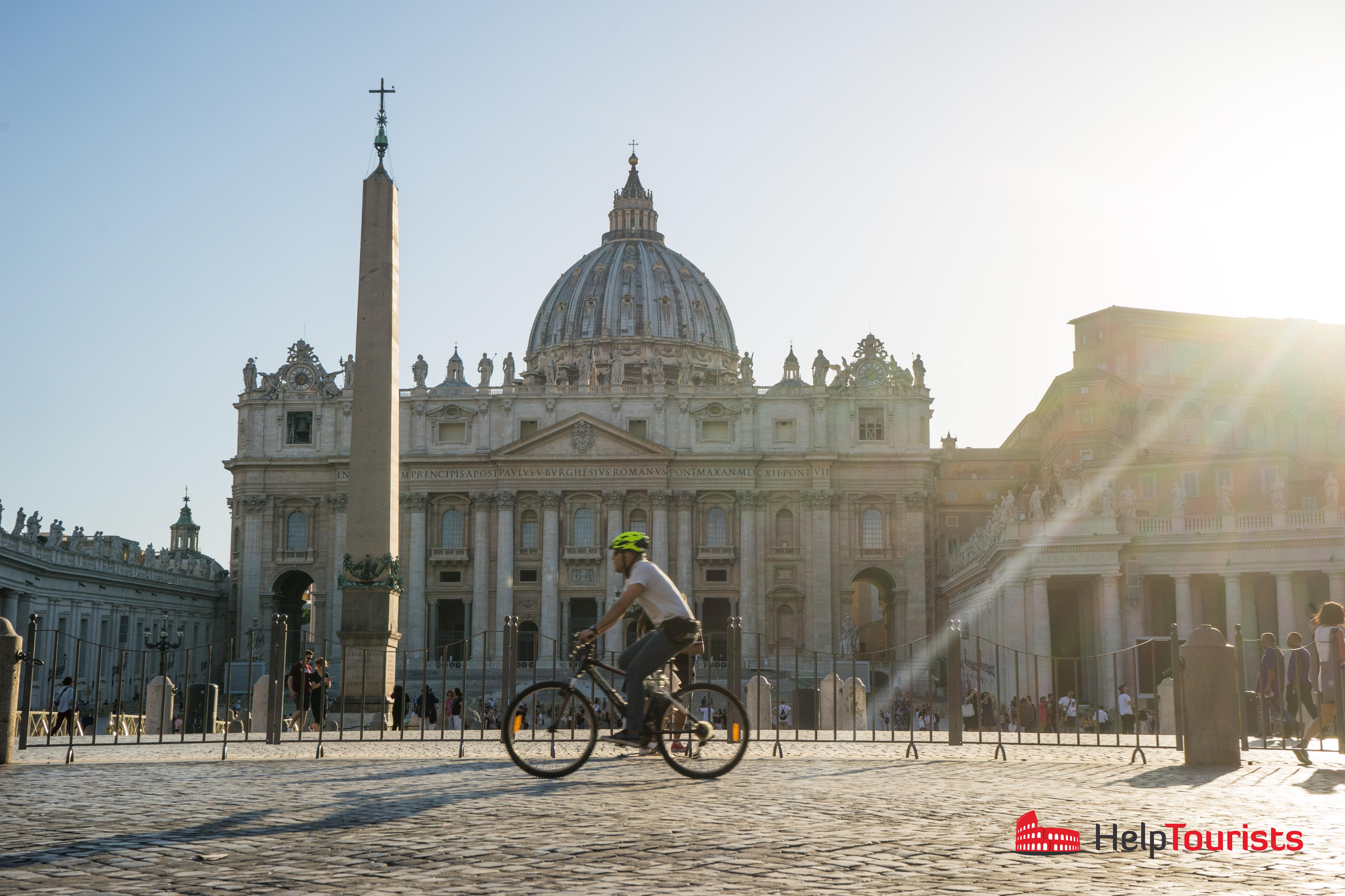 ROM_Piazza-San-Pietro_Fahrrad_l