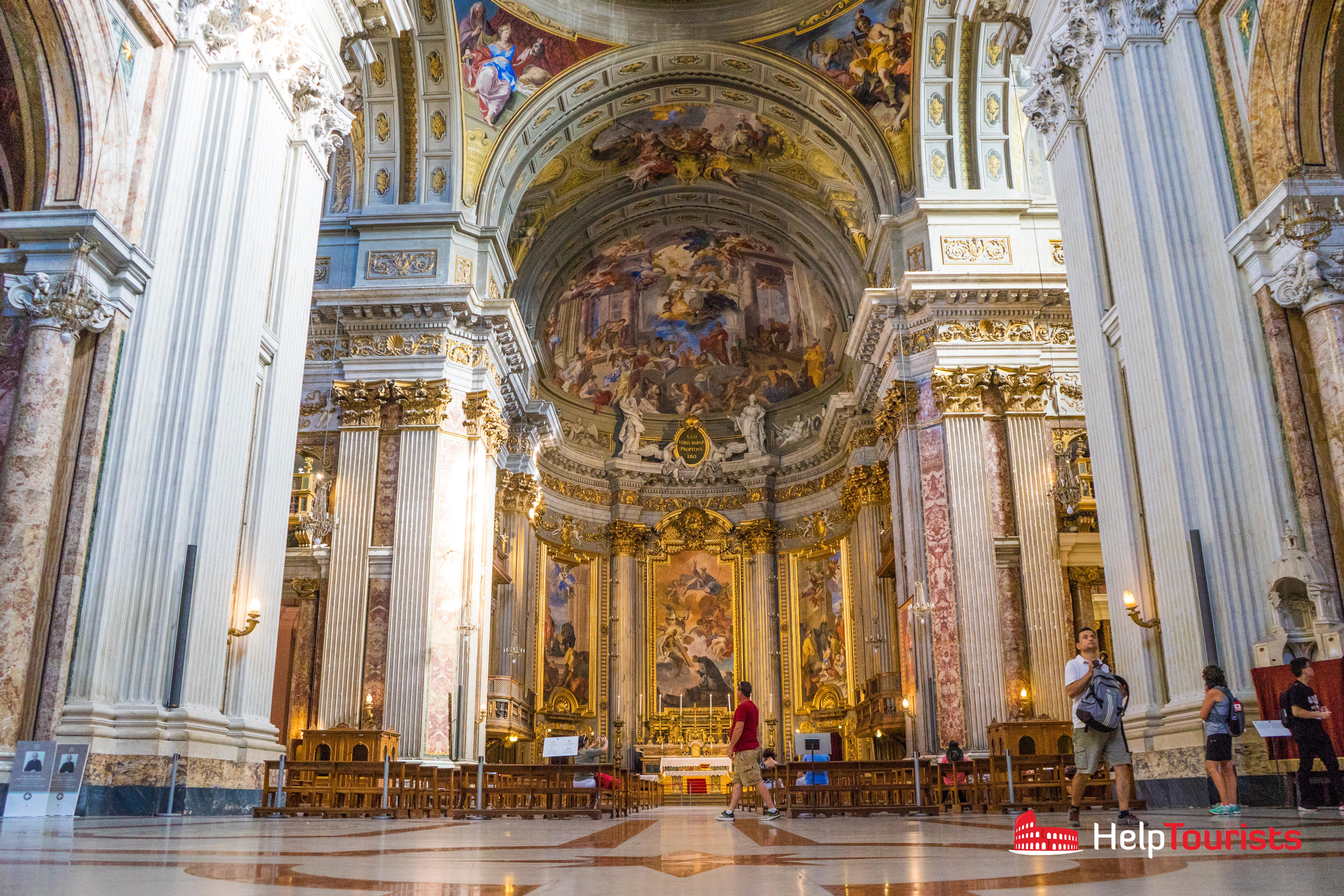 ROME_Sant-Ignazio-di-Loyola-in-Campo-Marzio_Altar_l