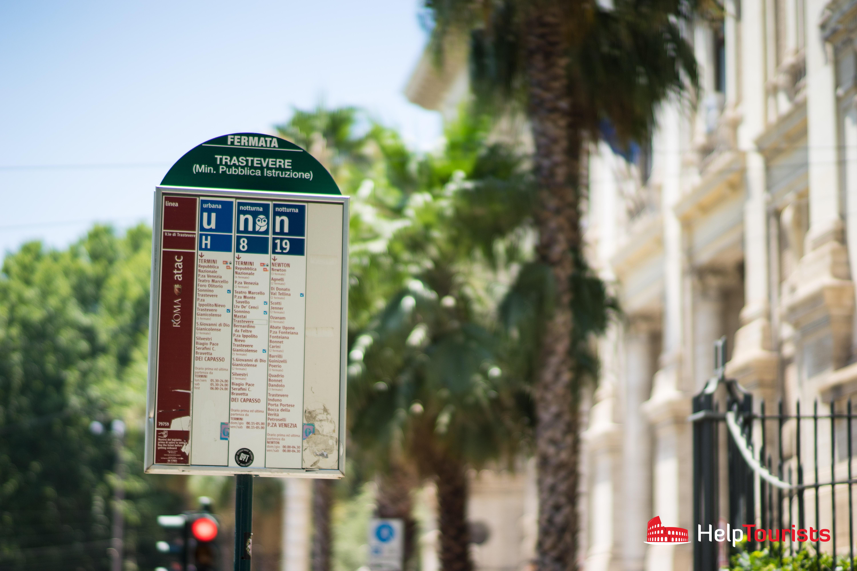 ROM_Trastevere_Bus_Haltestelle_l