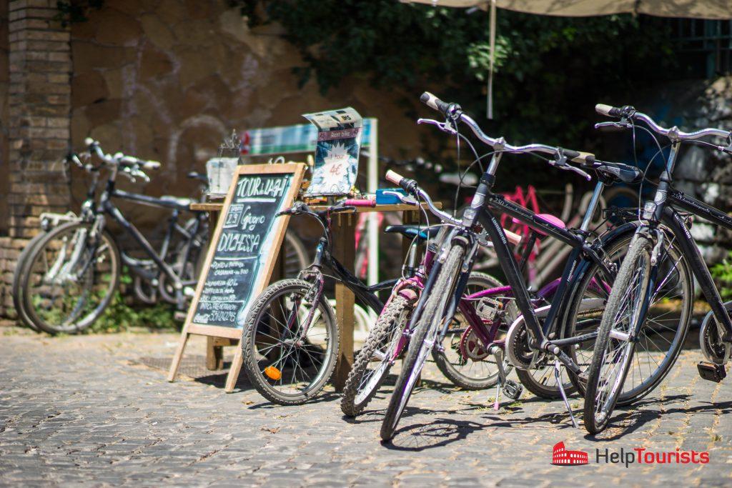 ROM_Via-Appia-Antica_Fahrraeder_l
