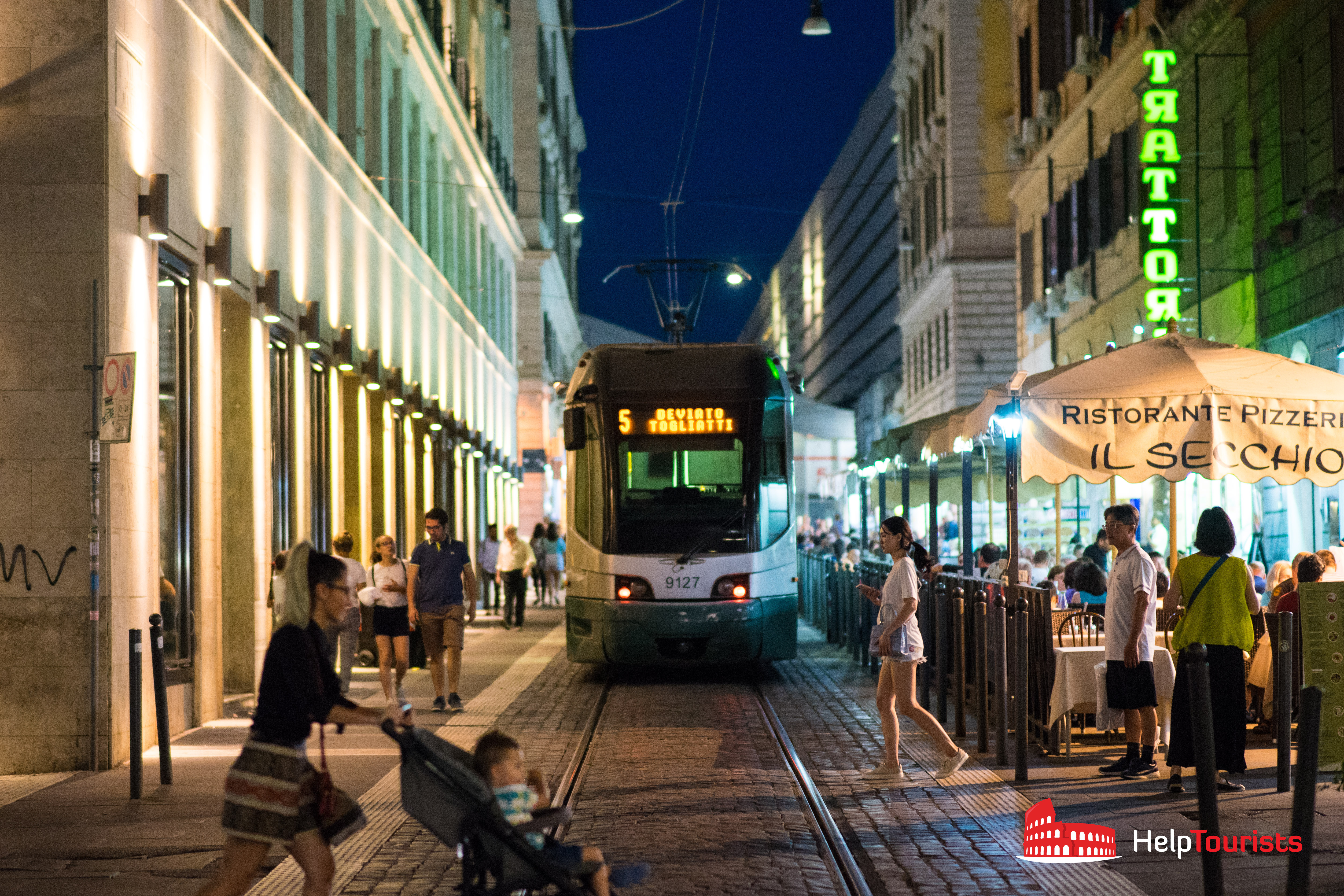 Tram-Nacht