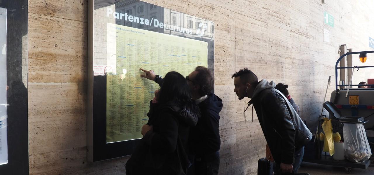 Rome central station Termini Info