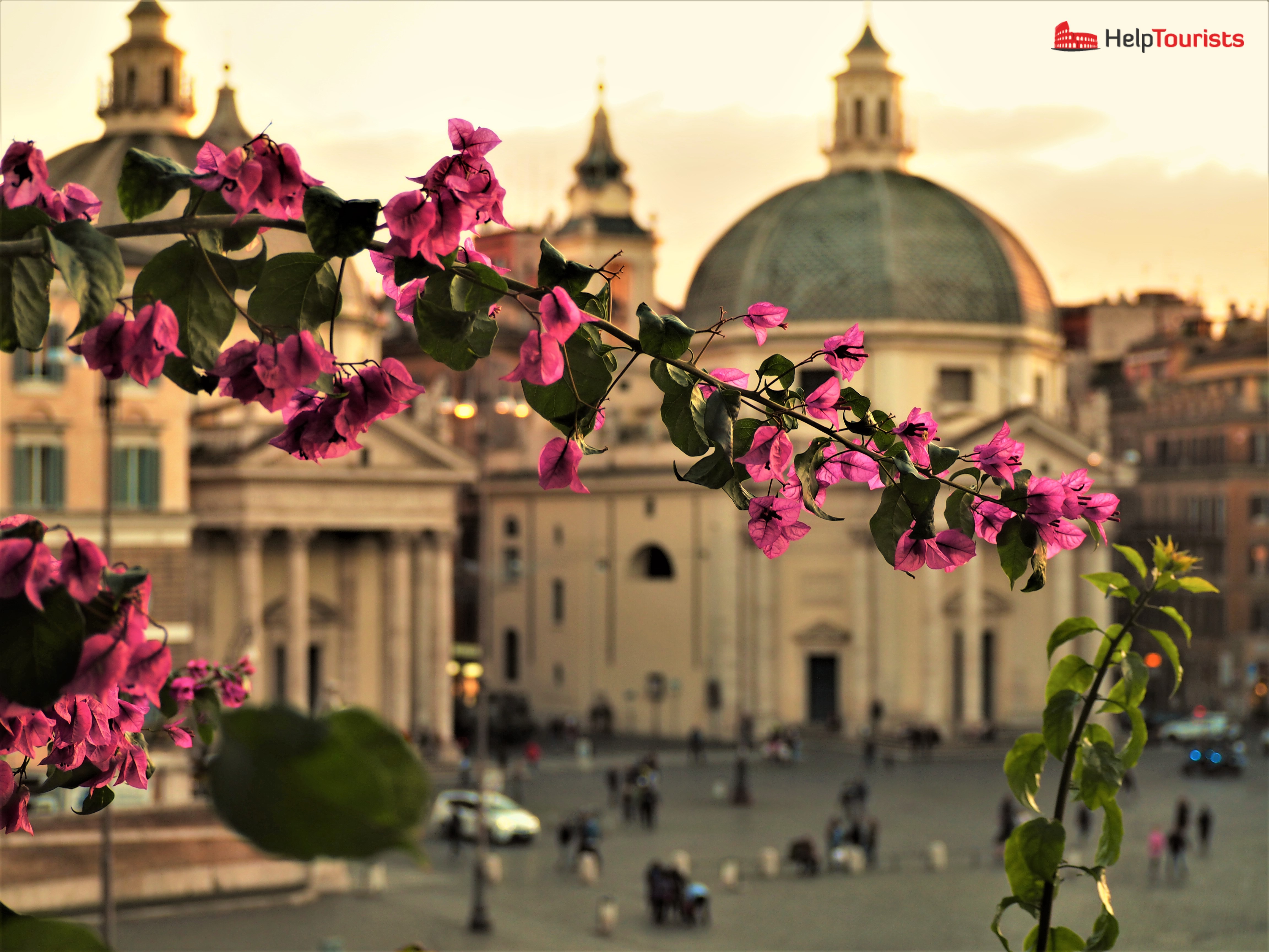 Rome autumn dome