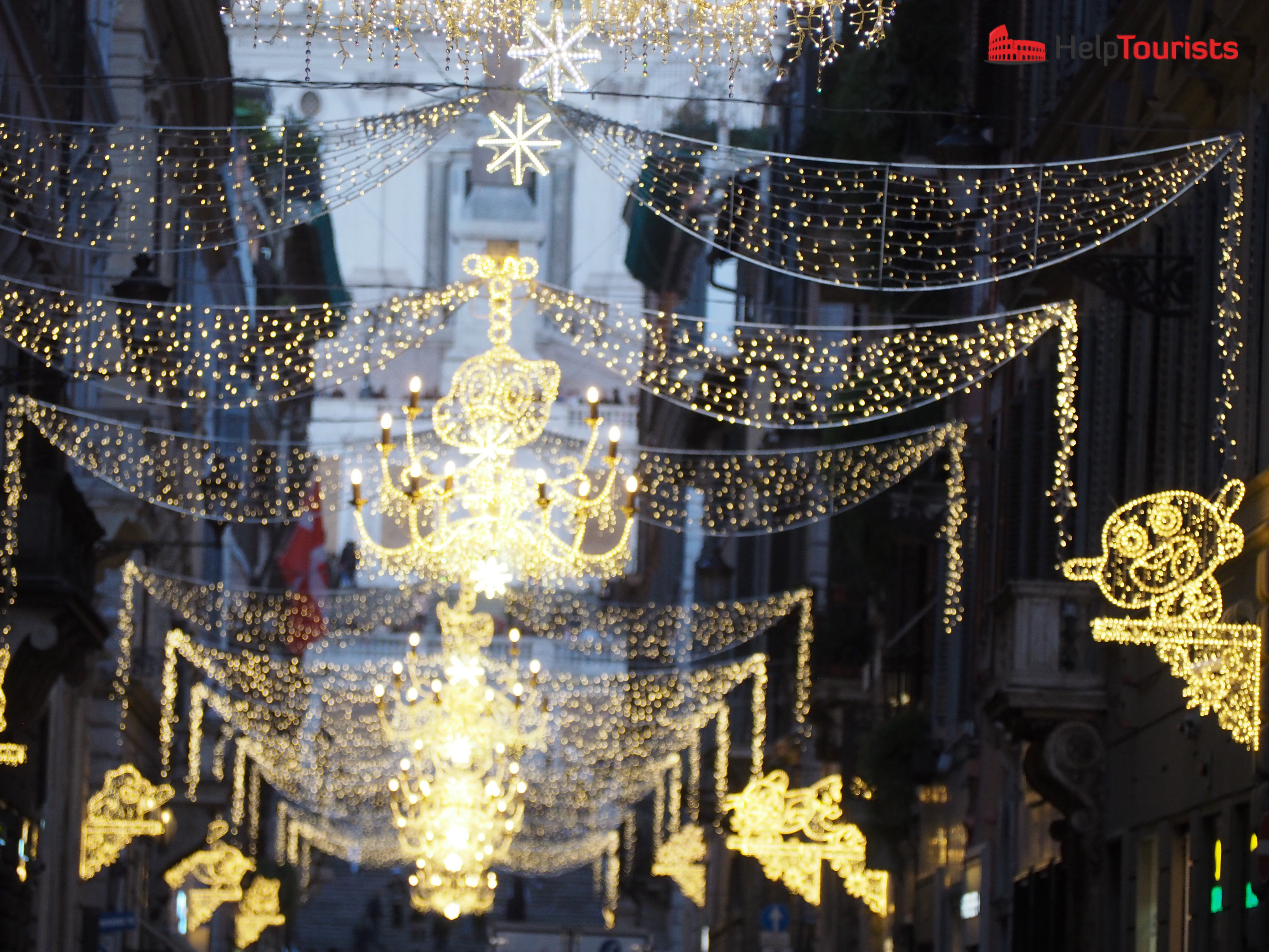 Rome Christmas decoration Winter