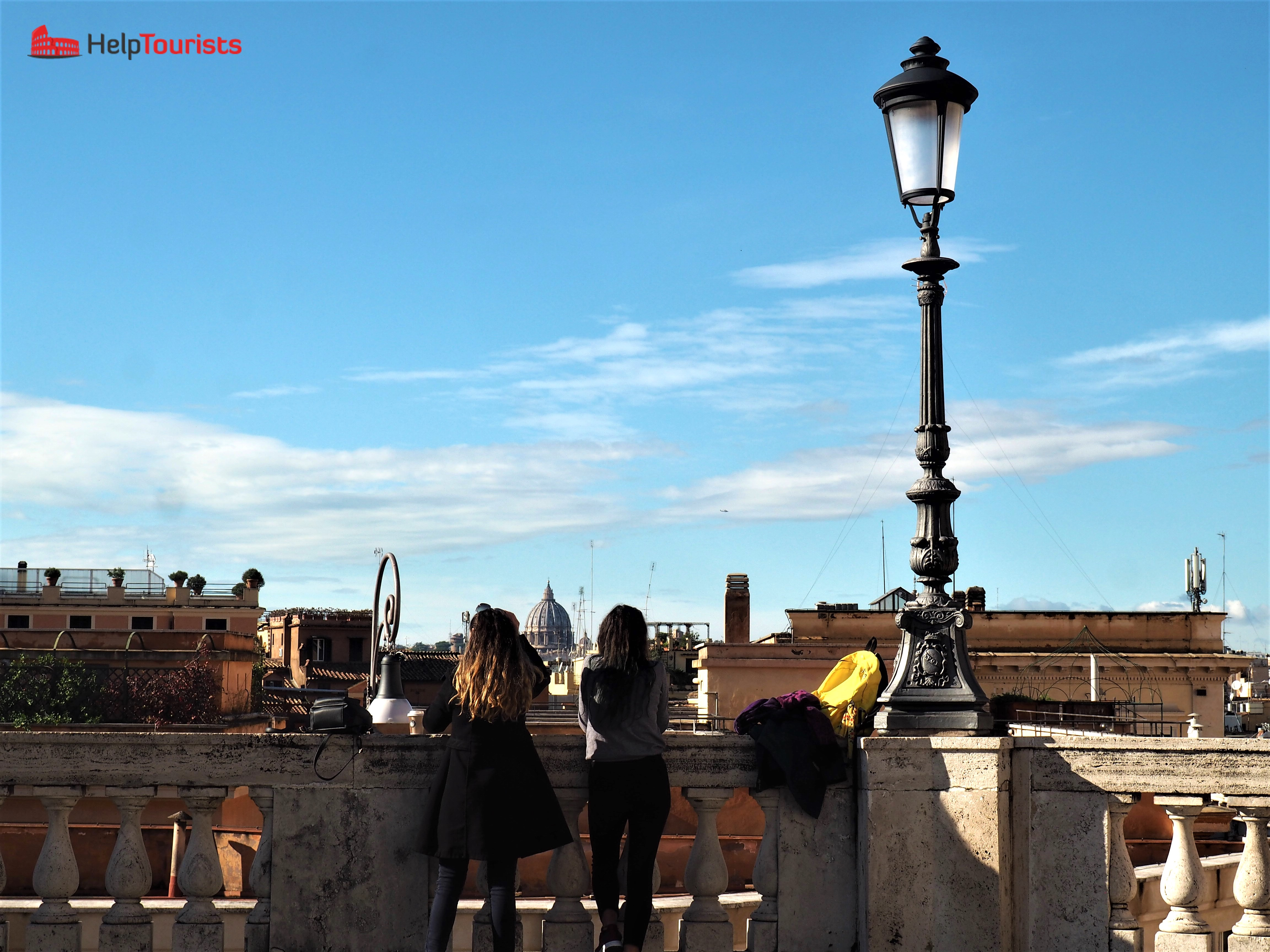 Rome for free view from Quirinale